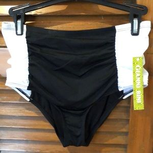 Gianni Bini High wasted swim bottoms Size S